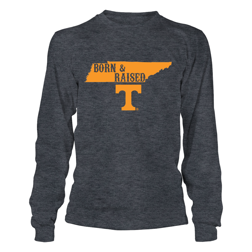 LIMITED EDITION BORN & RAISED - TENNESSEE VOLUNTEERS Front picture