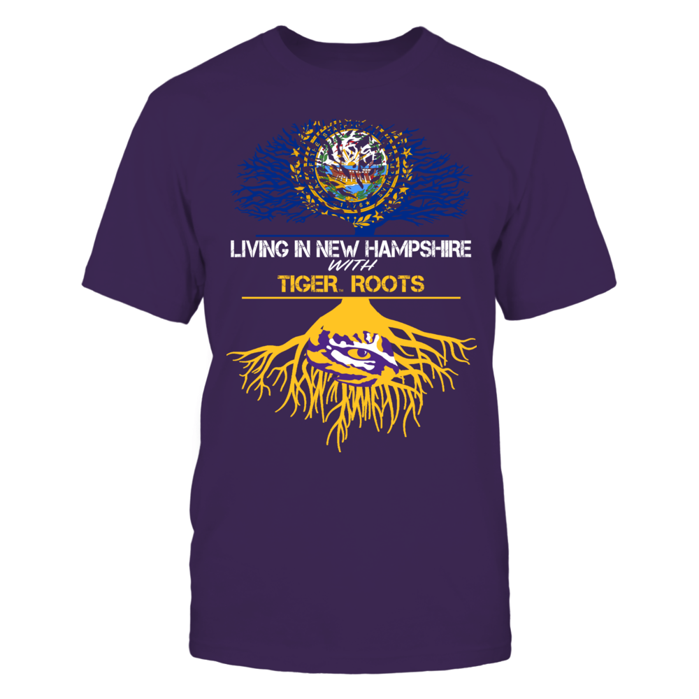 LSU Tigers - Living Roots New Hampshire Front picture