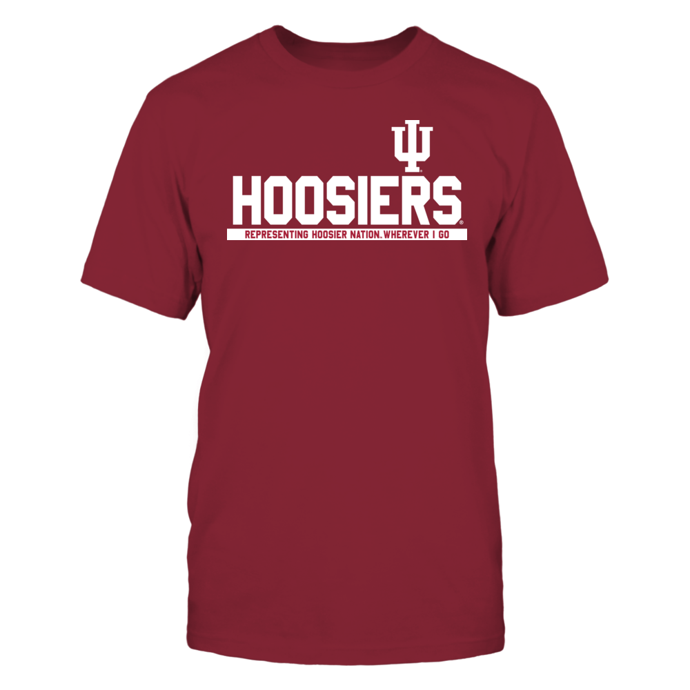 Indiana Hoosiers - Representing Wherever I Go Front picture