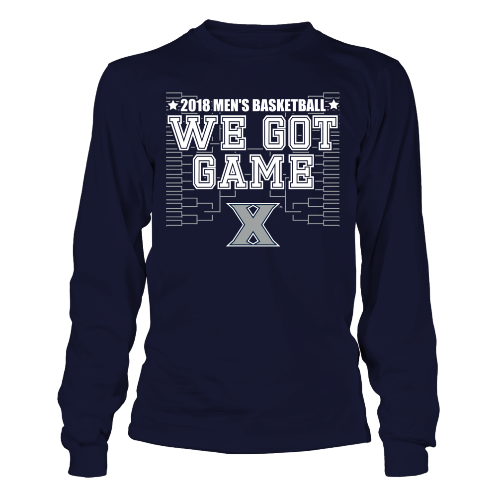 We Got Game - Xavier Musketeers Front picture
