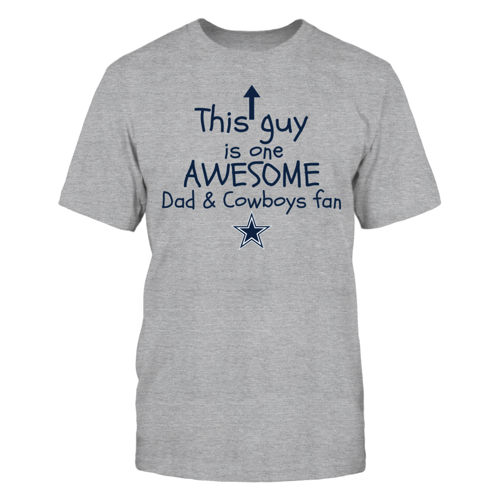 One Awesome Dad - Dallas Cowboys Front picture
