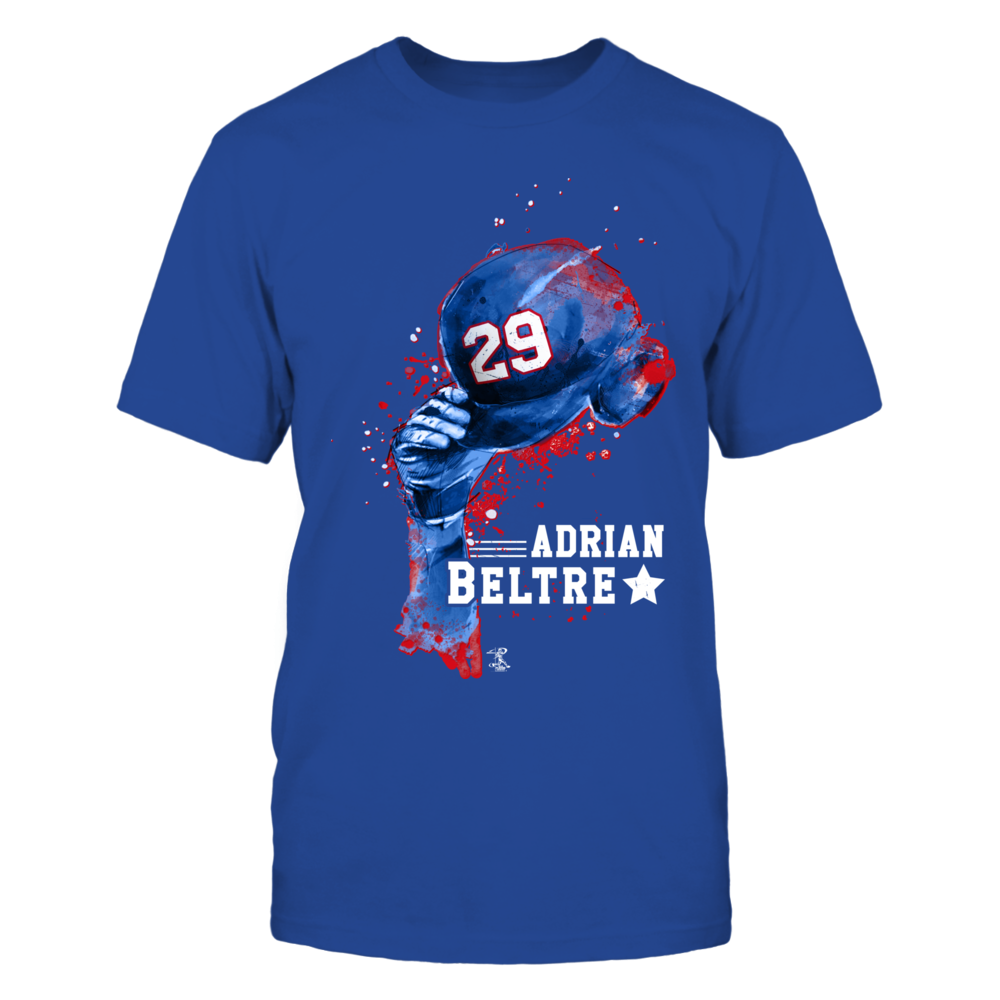 Adrian Beltre - Rising Baseball Hat Front picture