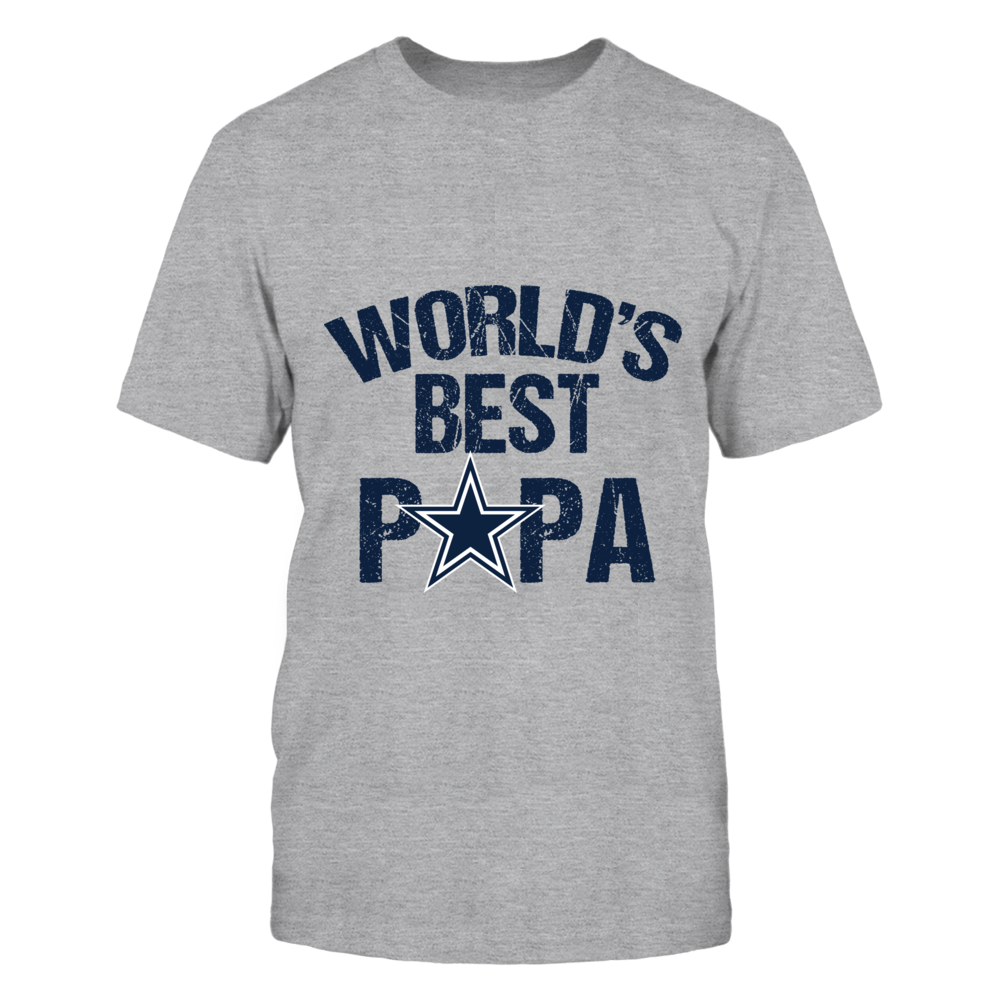 Dallas Cowboys World's Best Papa Front picture