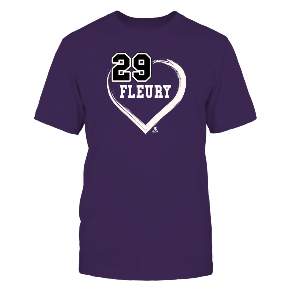 Marc-Andre Fleury Shirts - Heart 29 Front picture