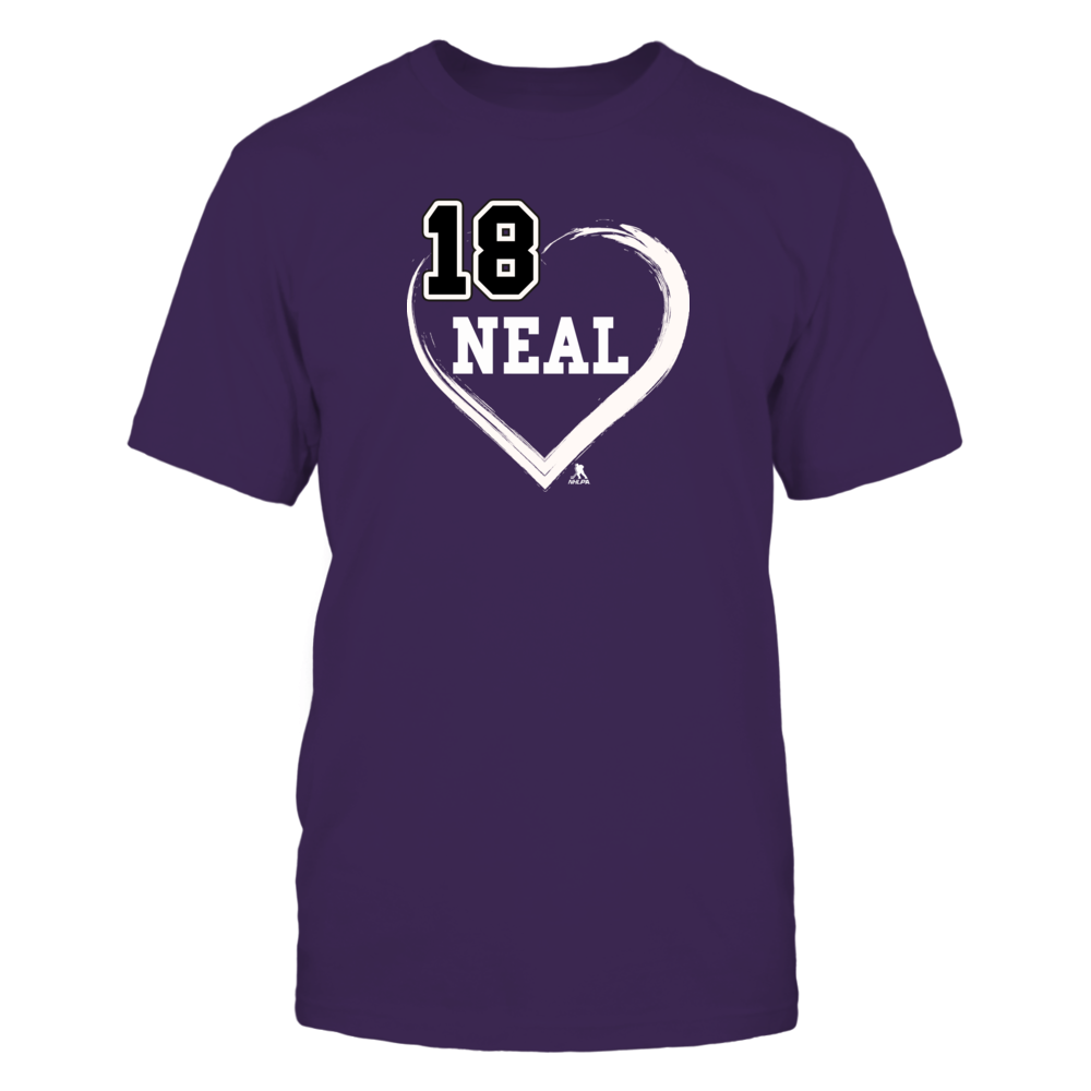 James Neal No. 18 - Heart Shirts Front picture