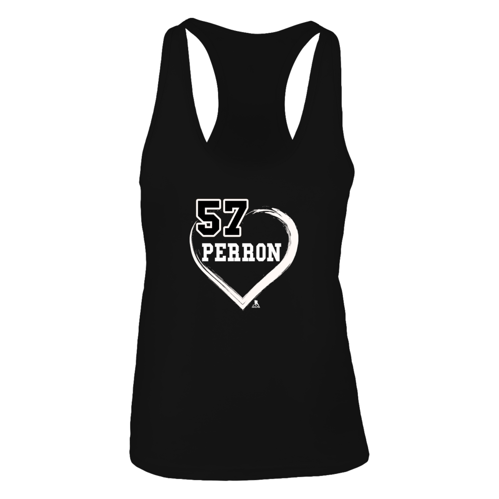 David Perron No. 57 - Heart Shirts Front picture