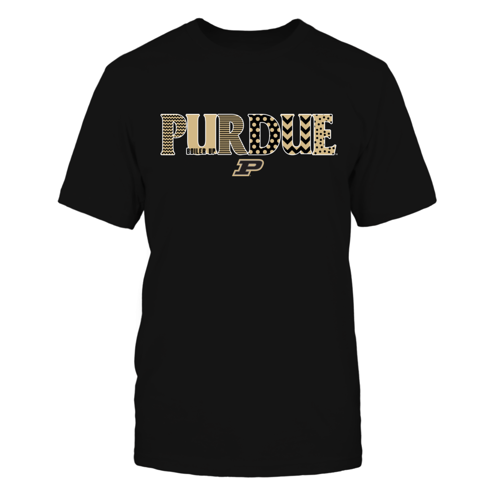 Purdue Boilermakers - Team Name Pattern Front picture