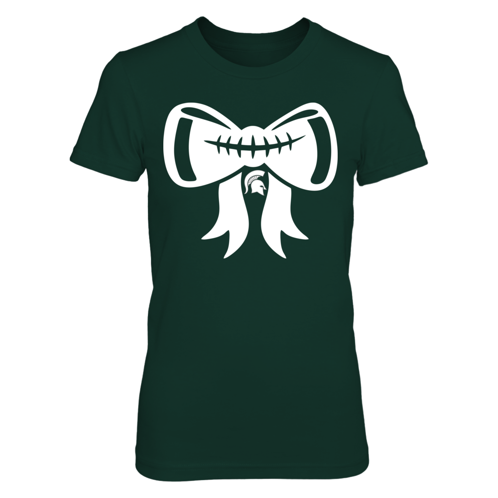 Michigan State Spartans - Football Bow Front picture