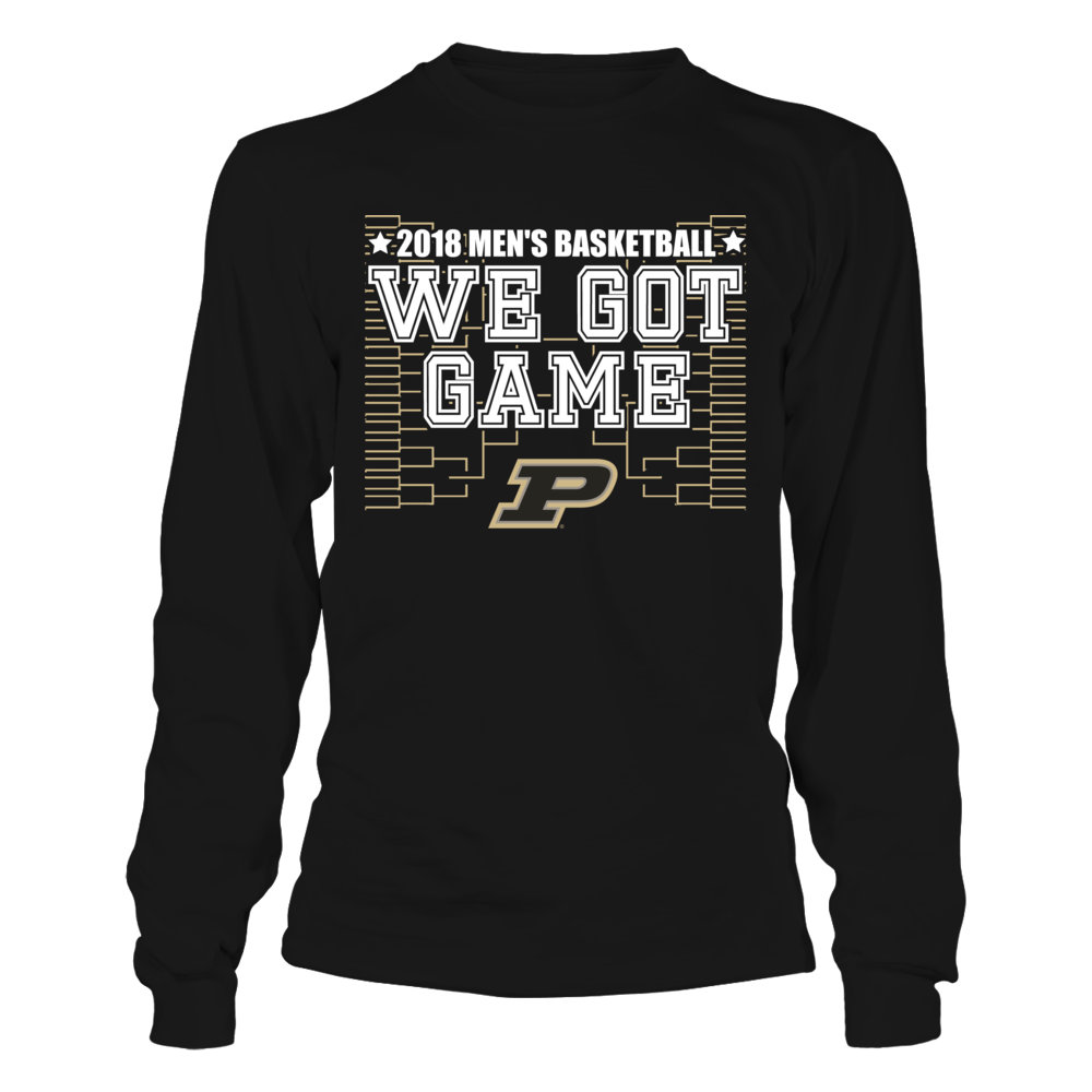 We Got Game - Purdue Boilermakers Front picture