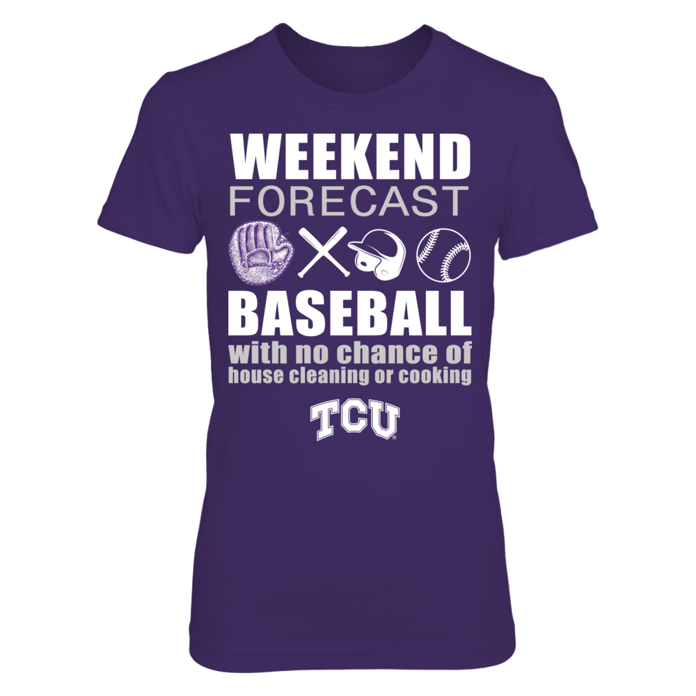 TCU Horned Frogs - Weekend Forecast - Baseball Front picture