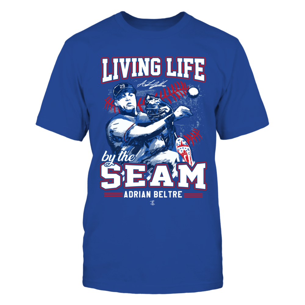 Adrian Beltre - Living life by the seams Front picture