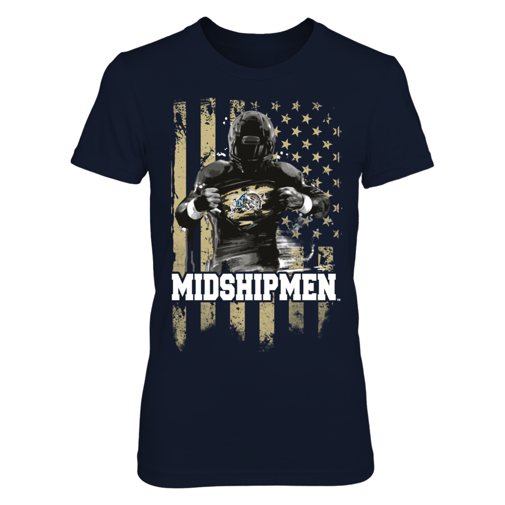 Player Flag - Navy Midshipmen Front picture