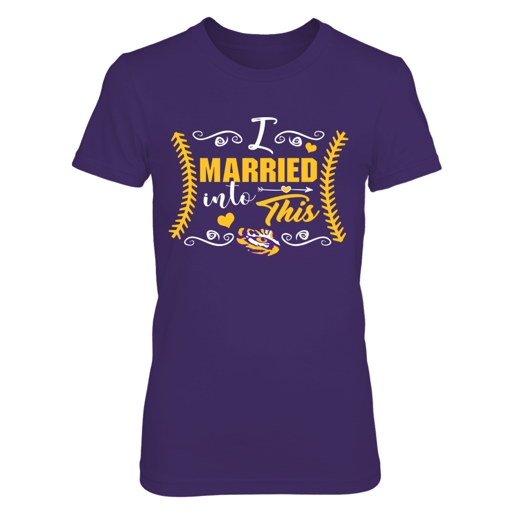 LSU Tigers - Married Into This - Baseball Front picture