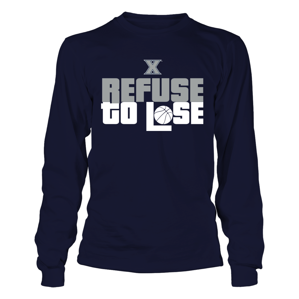 Refuse to Lose - Xavier Musketeers Front picture