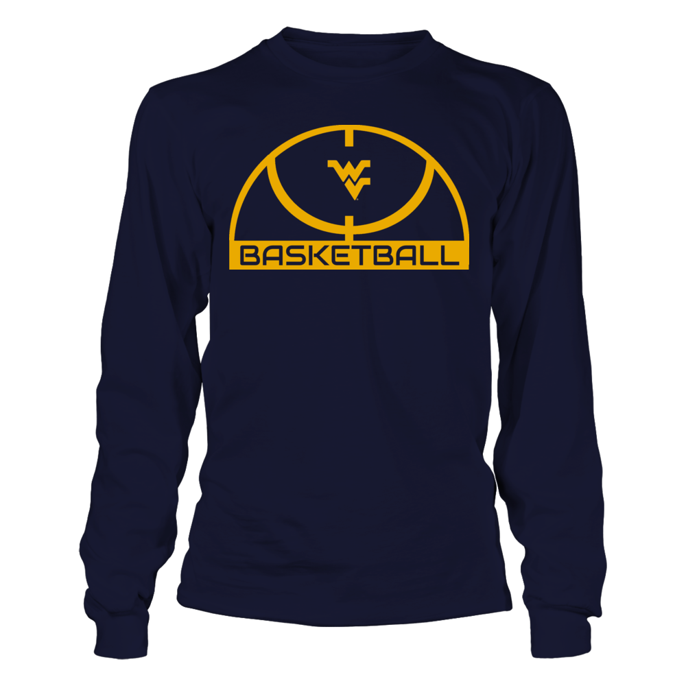 Elite Basketball Shirt - West Virginia Mountaineers Front picture