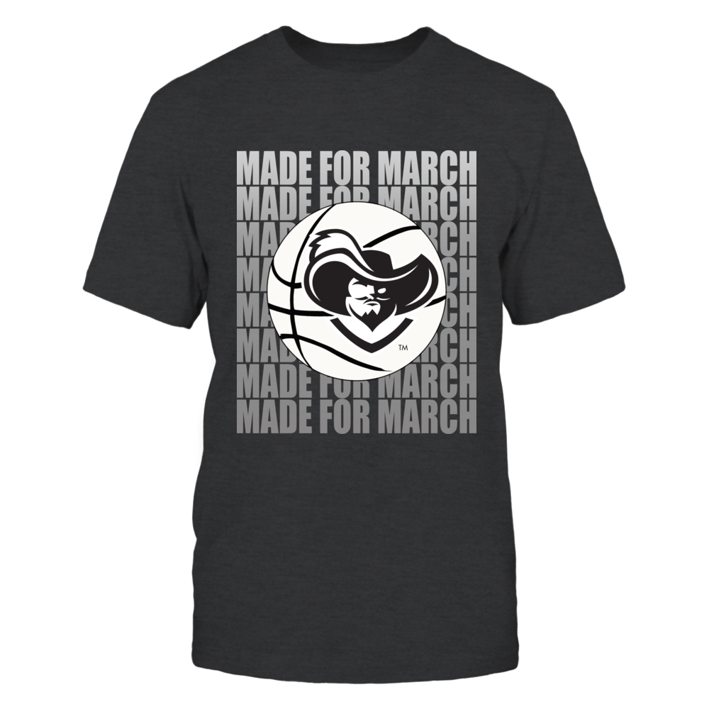 Xavier Mens Basketball Apparel - Made for March Front picture