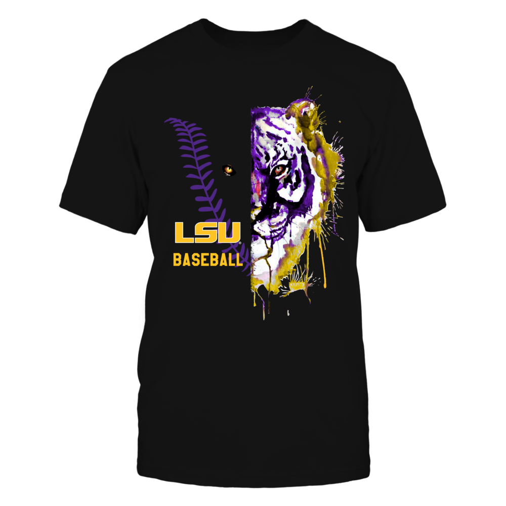 LSU Tigers - Half Face Baseball Front picture