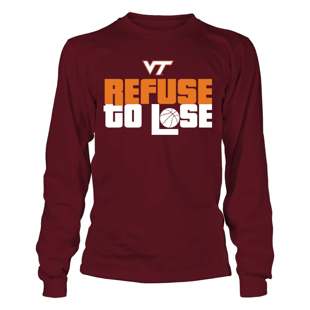 Refuse to Lose - Virginia Tech Hokies Front picture