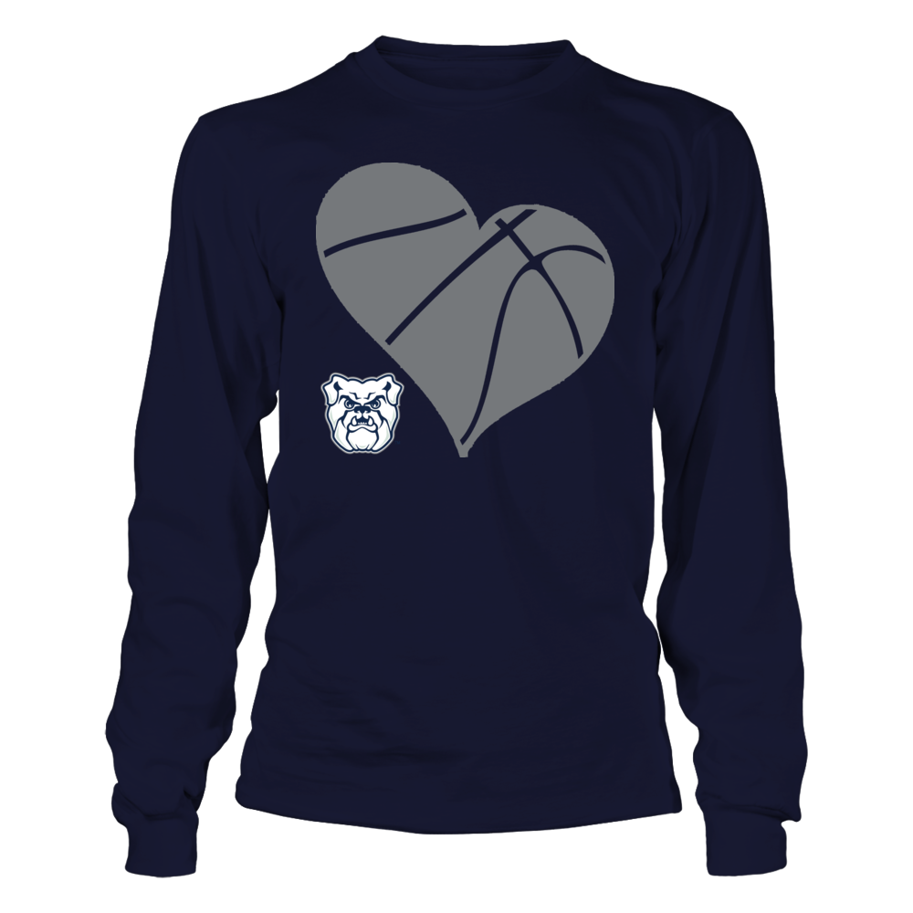 BU Basketball Heart - Butler Bulldogs Front picture