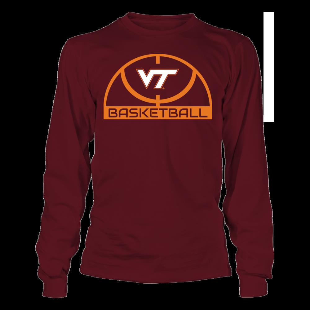 Elite Basketball Shirt - Virginia Tech Hokies Front picture