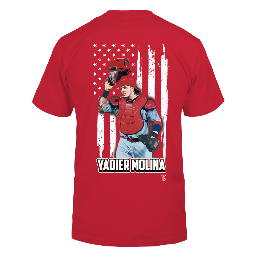 Yadier Molina - Player And Nation Flag - Back Back picture