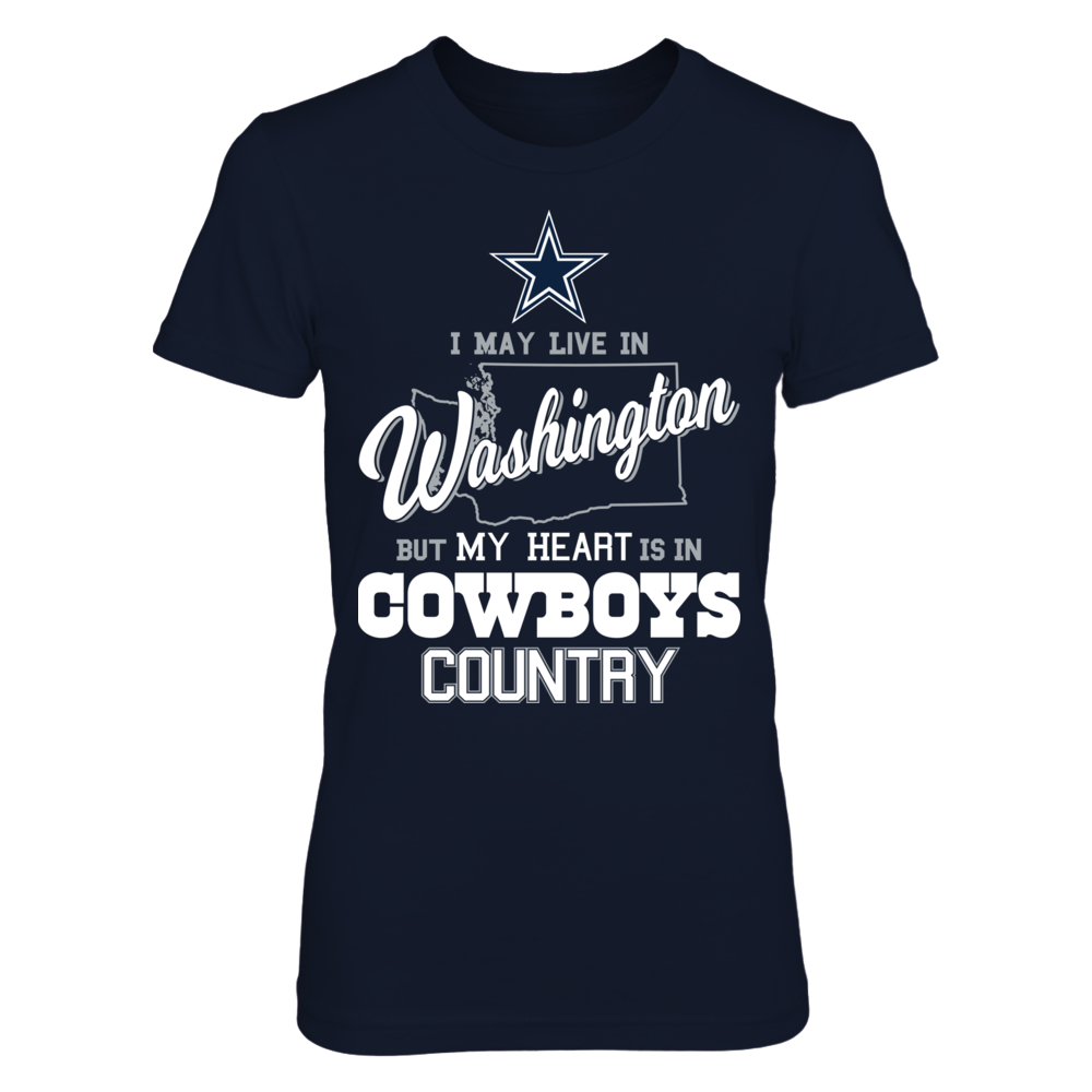 My Heart Is In Washington - Dallas Cowboys Front picture