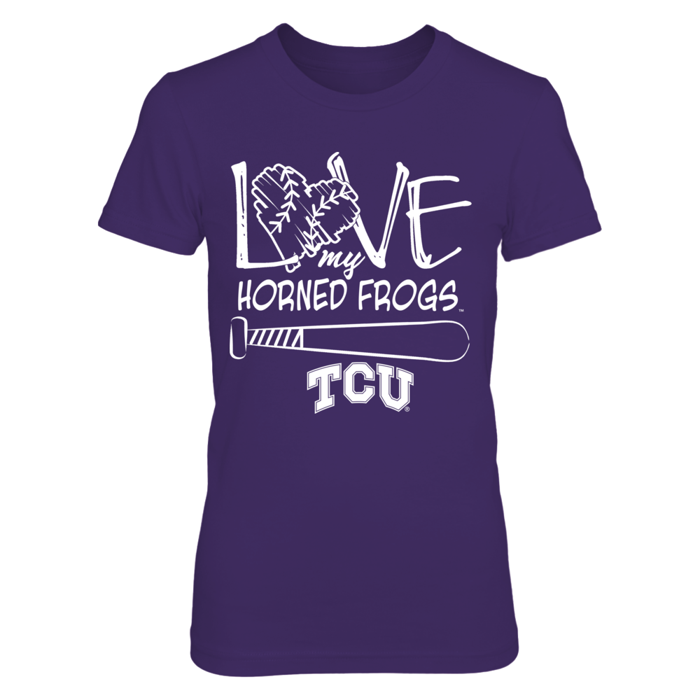 TCU Horned Frogs - Love Drawing Letters Front picture