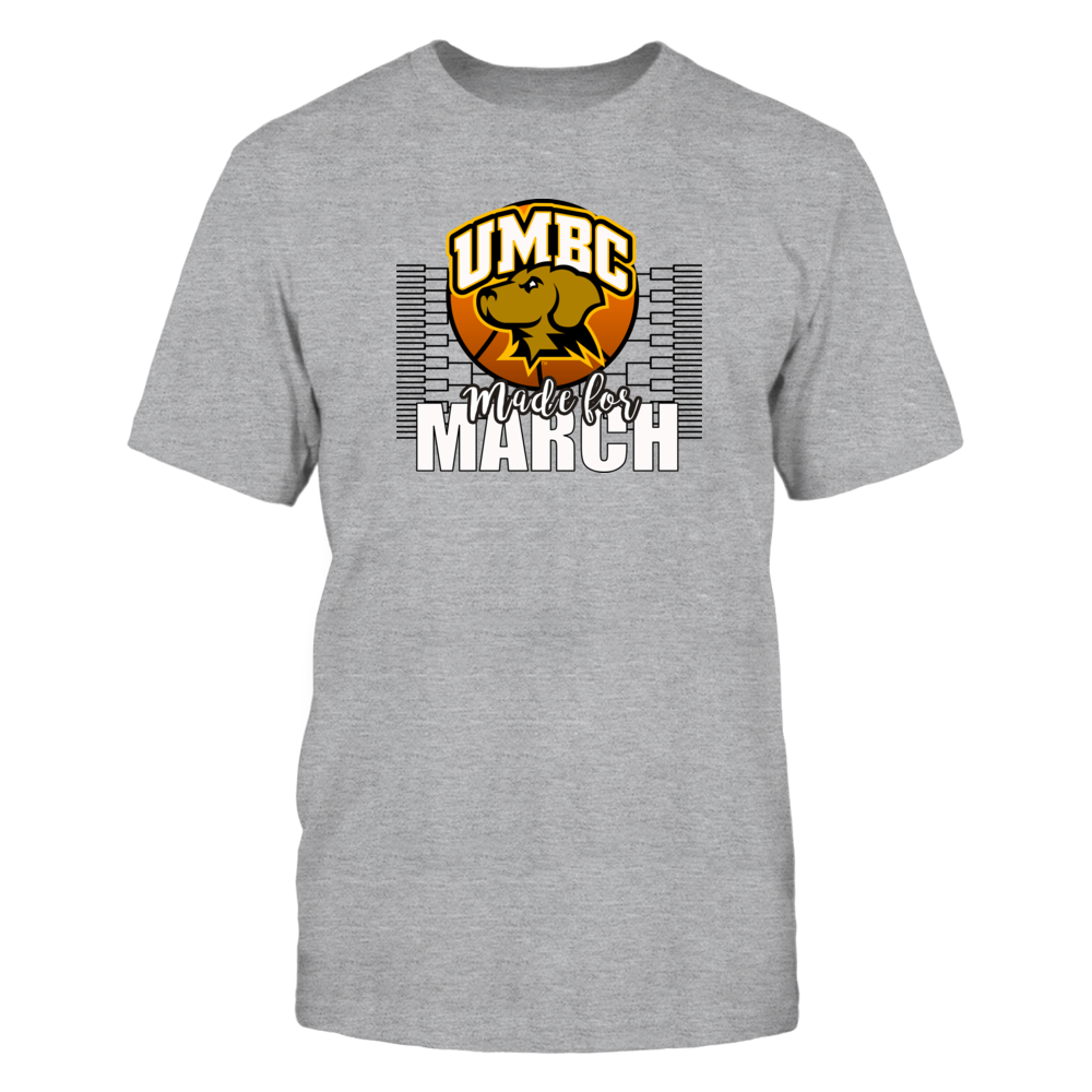University Maryland Baltimore County - UMBC Basketball, Made for March Front picture
