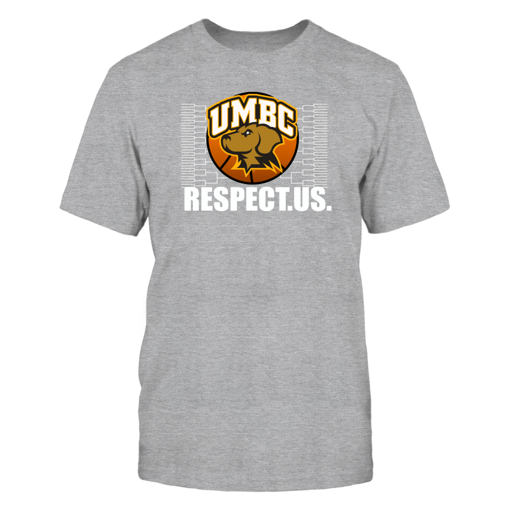 University Maryland Baltimore County Basketball - Respect Us Front picture