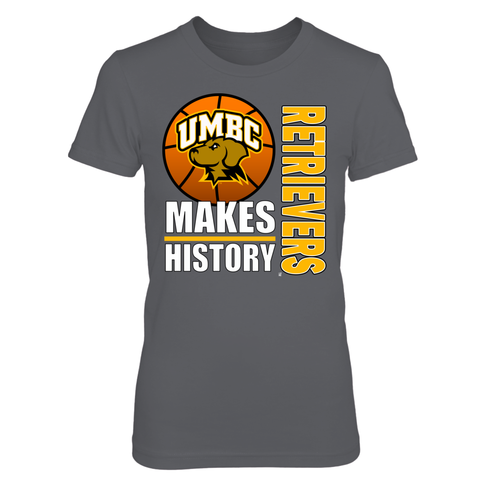 University Maryland Baltimore County Basketball - Makes History Front picture