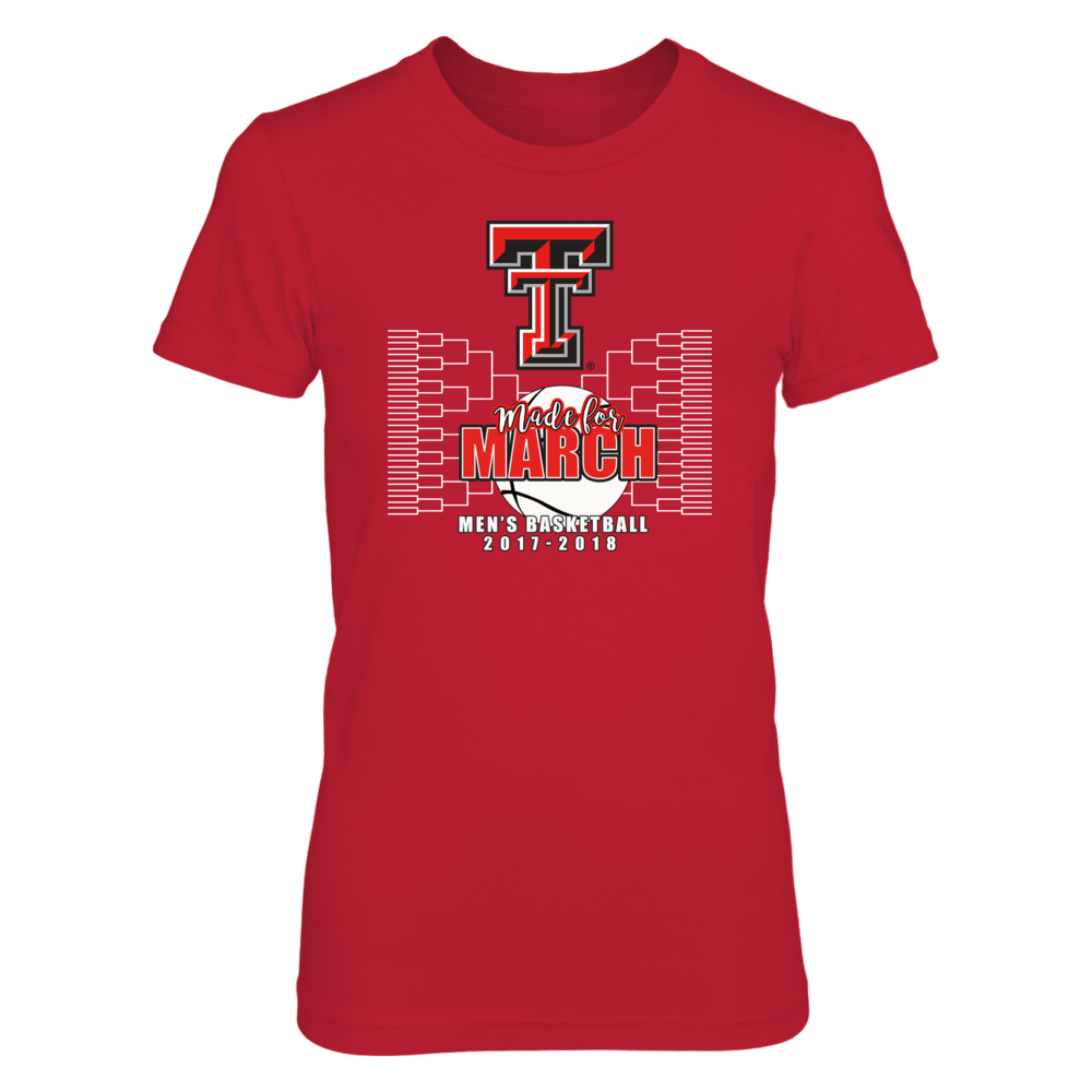 Texas Tech Red Raiders Shop - Men's Basketball, Made for March Front picture