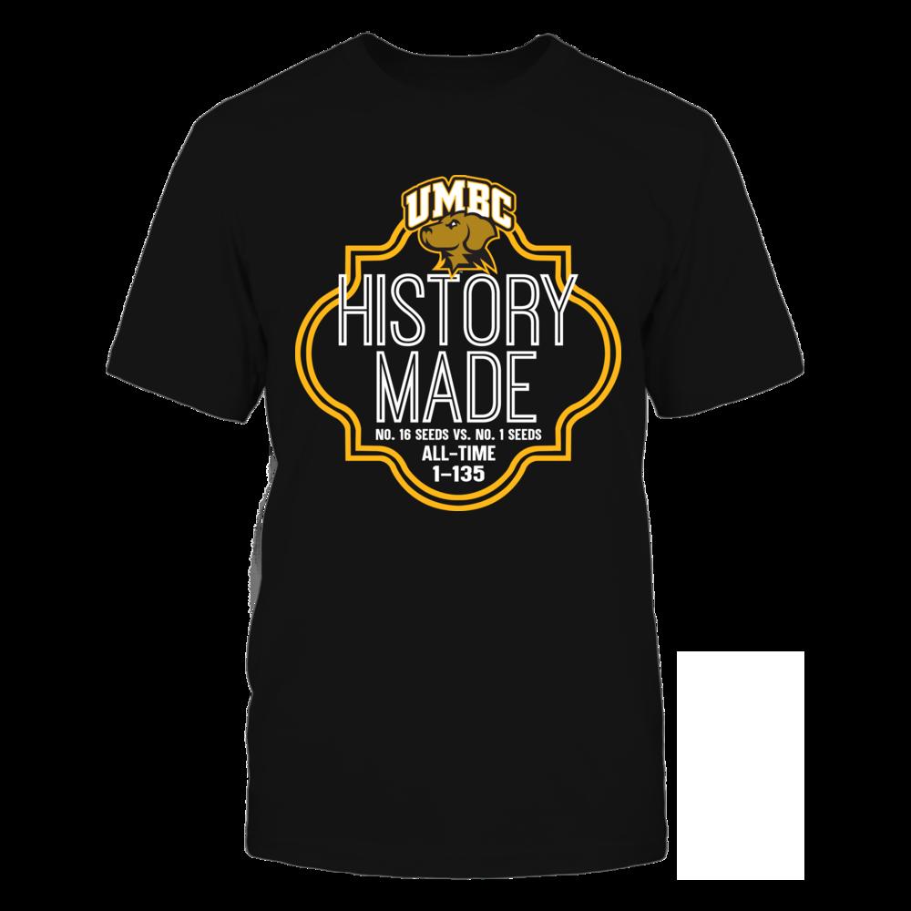 UMBC Retrievers - UMBC History Made Front picture