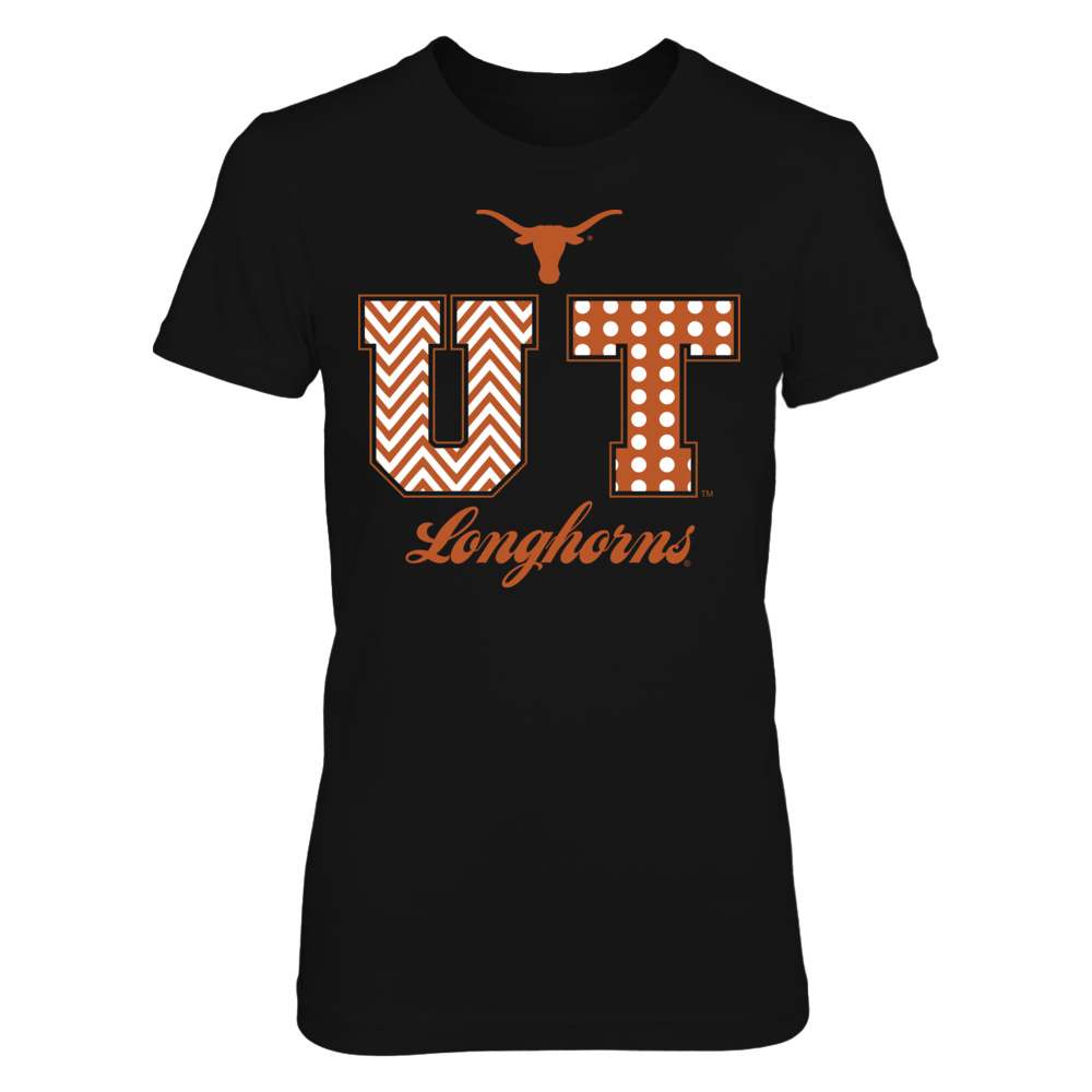 Texas Longhorns - Patterned Letters Front picture