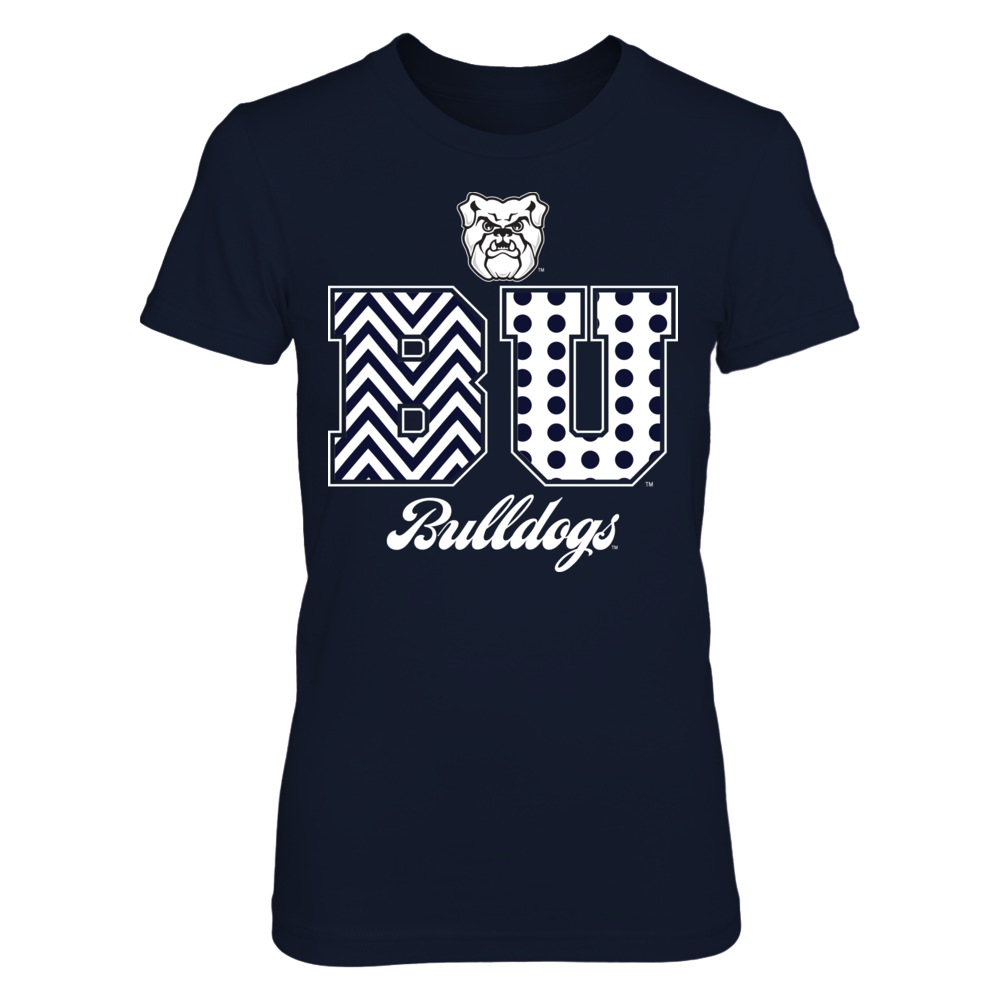 Patterned Letters - Butler Bulldogs Front picture