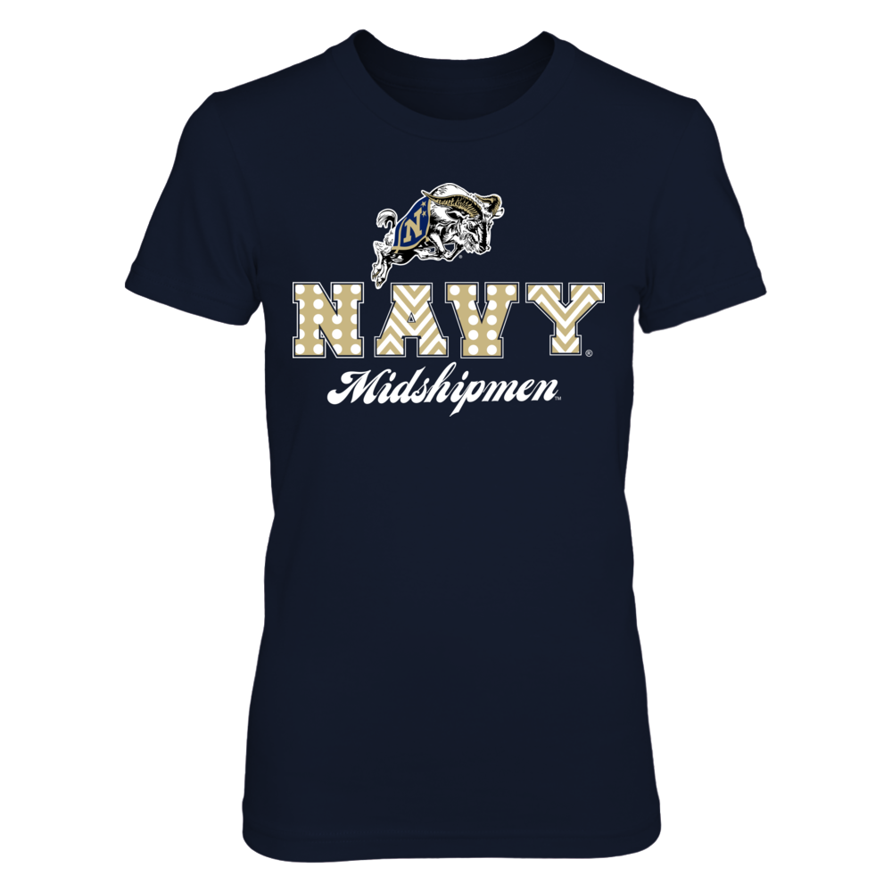 Patterned Letters - Navy Midshipmen Front picture