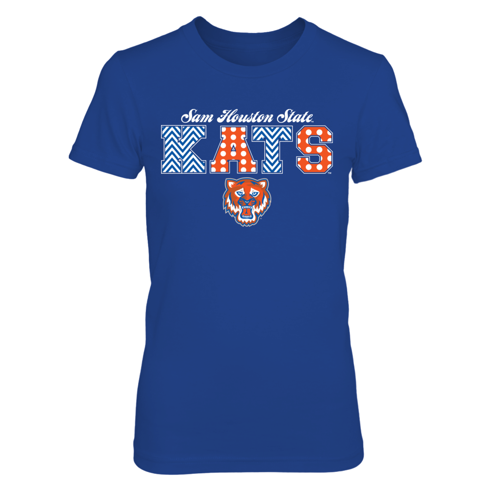 Patterned Letters - Sam Houston State Bearkats Front picture