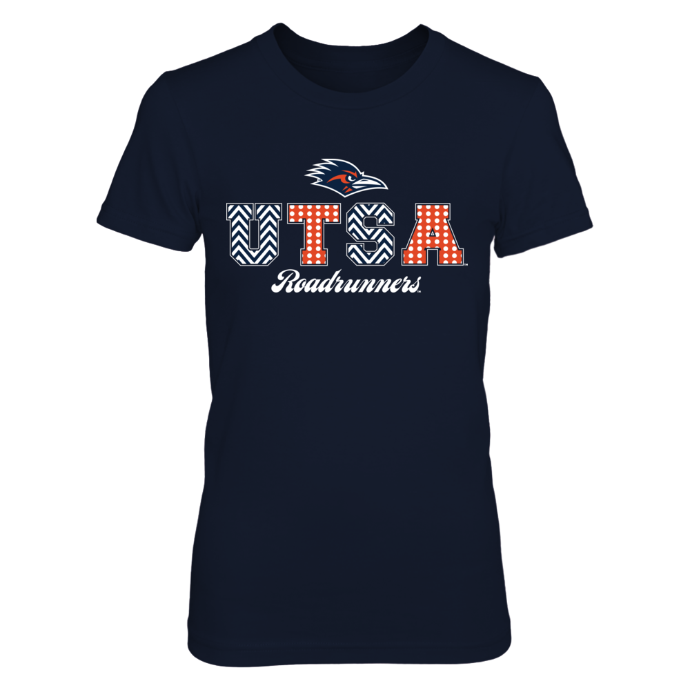 Patterned Letters - UTSA Roadrunners Front picture