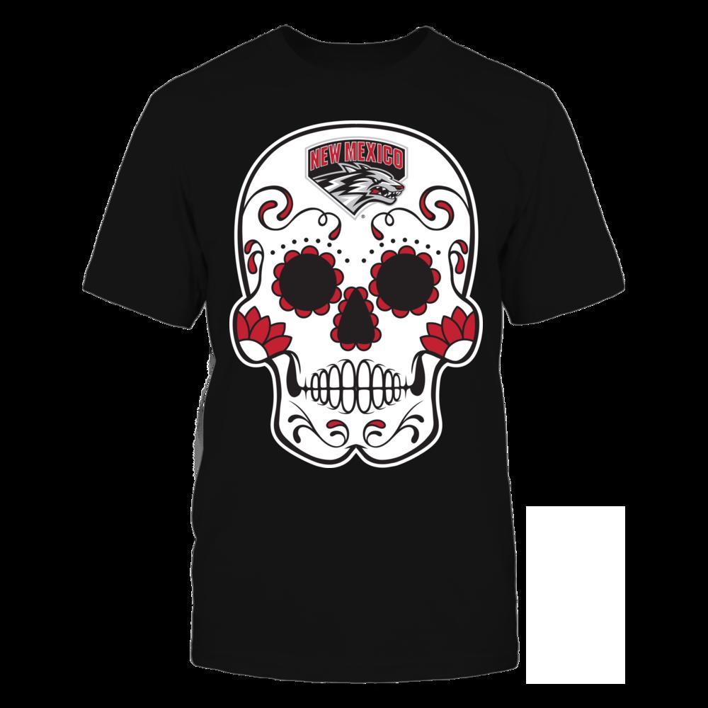 Sugar Skull - New Mexico Lobos Front picture