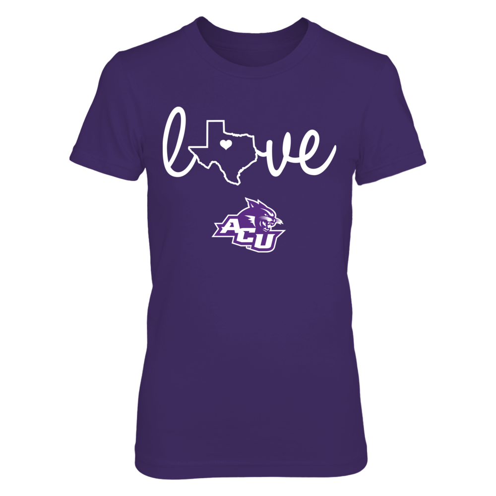 State Love - Abilene Christian Wildcats Front picture