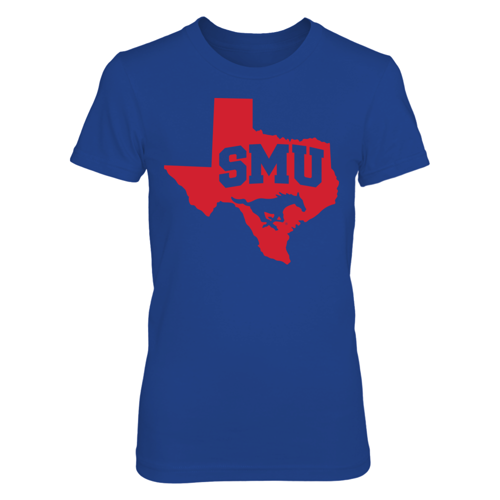 SMU Mustangs - Logo State Front picture