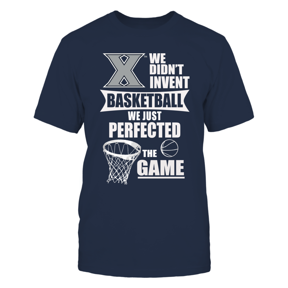 Xavier Mens Basketball Apparel Front picture