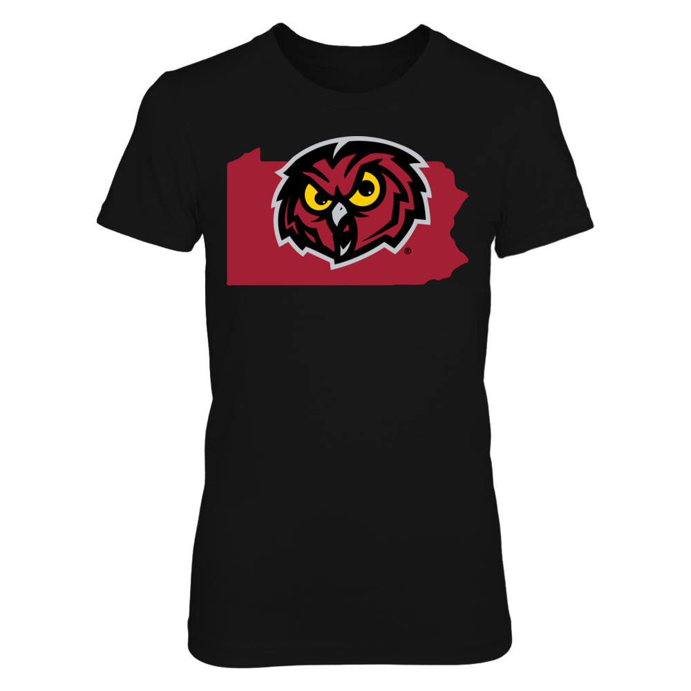 Temple Owls - State Logo Front picture