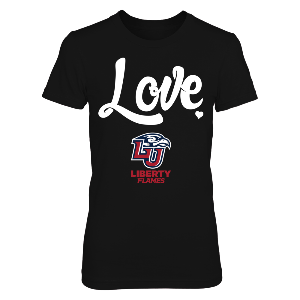 Liberty Flames - Love Script Front picture