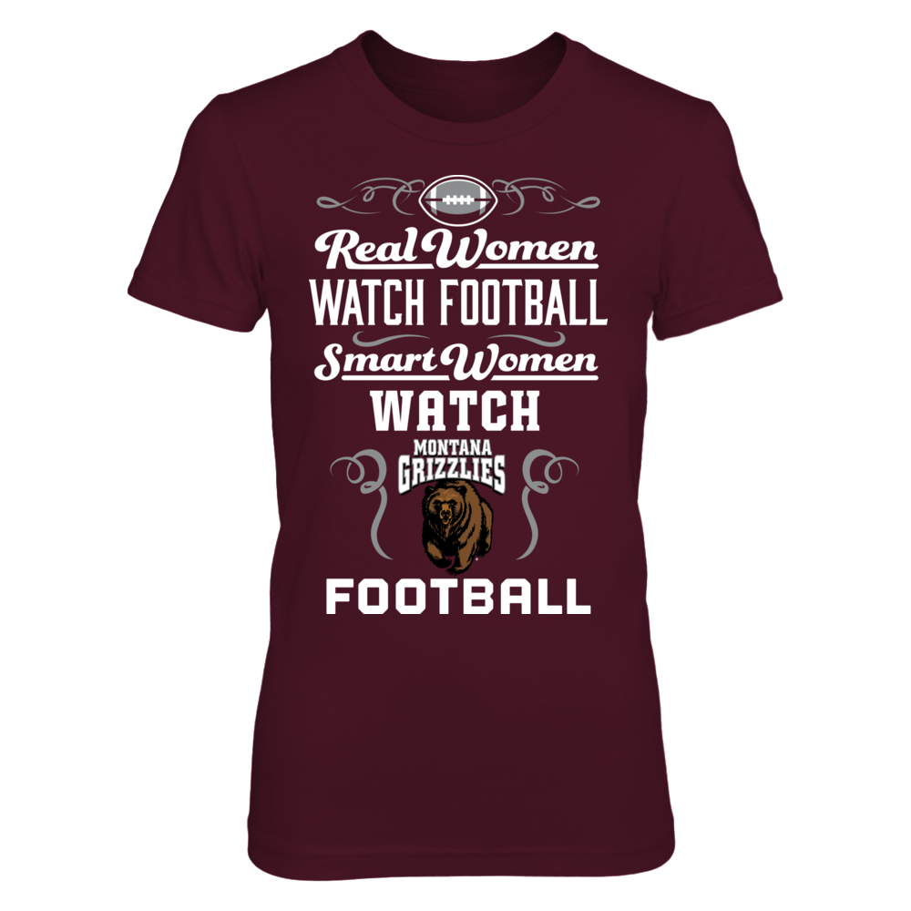 Montana Griz - Real Women Watch Football Front picture