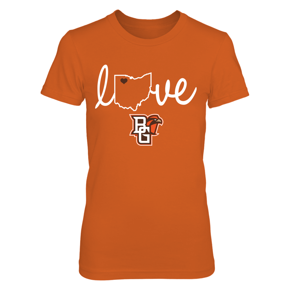 Bowling Green Falcons - State Love Front picture