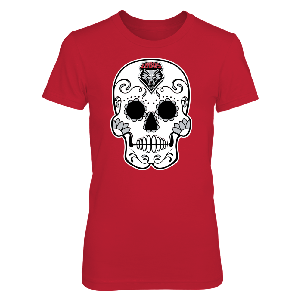 New Mexico Lobos - Sugar Skull Front picture