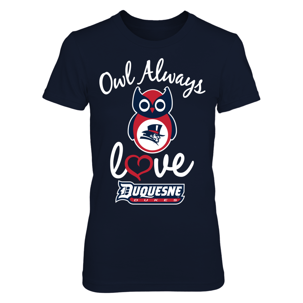 Duquesne Dukes - Owl Always Love Front picture