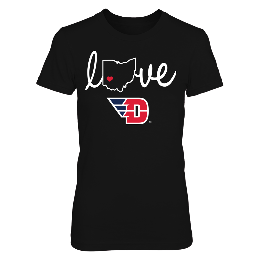Dayton Flyers - State Love Front picture