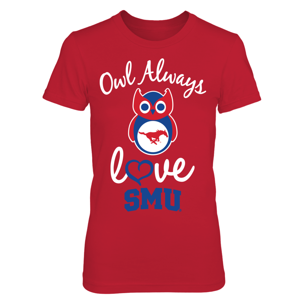 SMU Mustangs - Owl Always Love Front picture