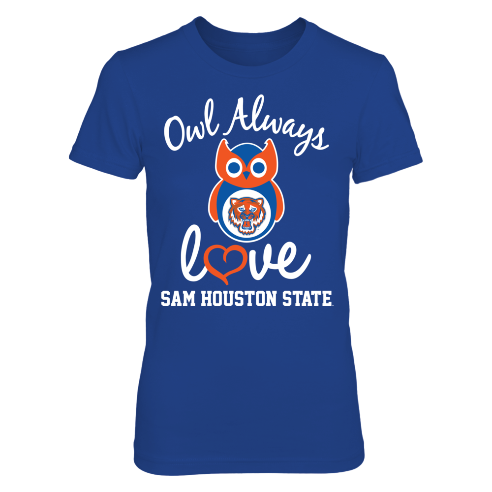 Sam Houston State Bearkats - Owl Always Love Front picture